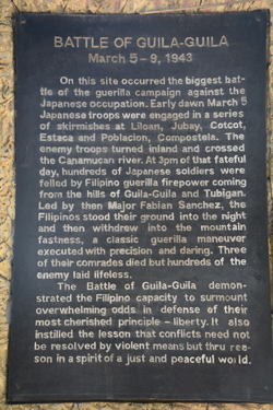 The Battle in Guila-Guila, Bagalnga